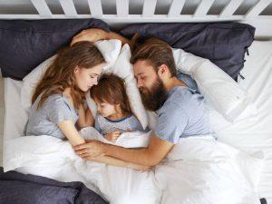 子どもと奥さんと三人